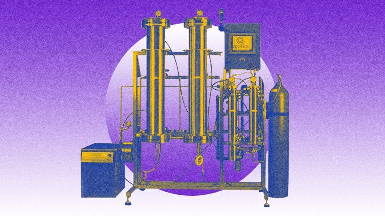 c02 closed loop extraction system
