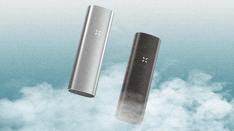 The Pax 2 in black and silver