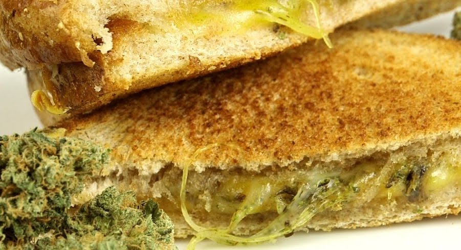 Grilled cheese with weed