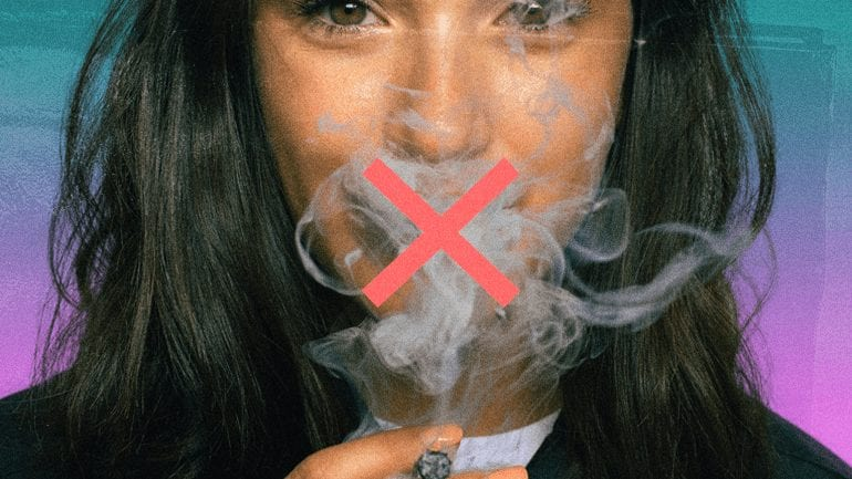STASH WEED & CONCEAL THE SMELL by quitting