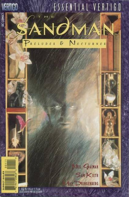 Sandman comic book cover
