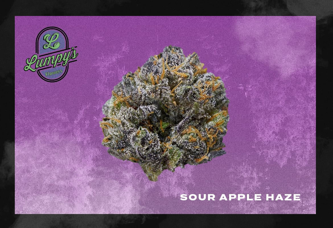 Lumpy's Flowers Sour Apple Haze