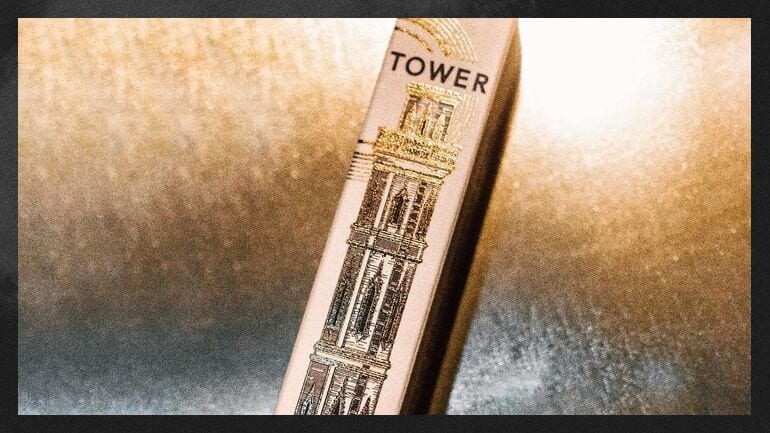 The Tower pre-roll brand packaging