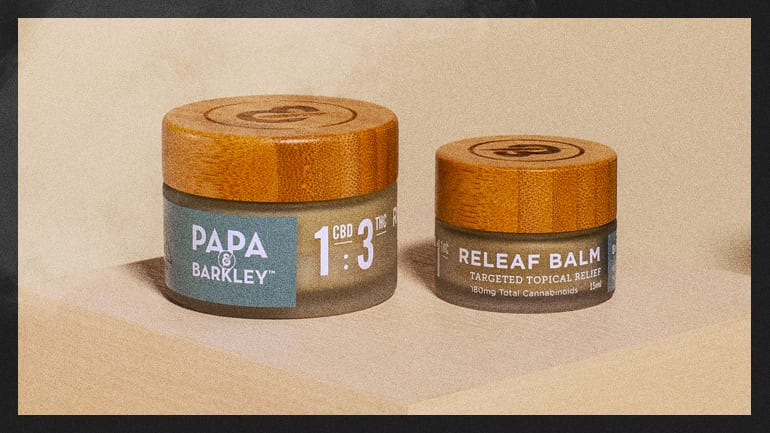 Papa & Barkley balm containers