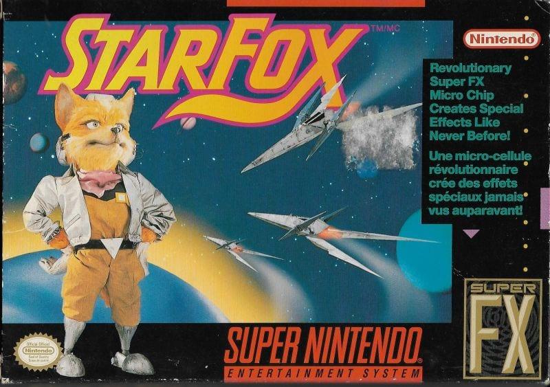 Star Fox super nintendo game
