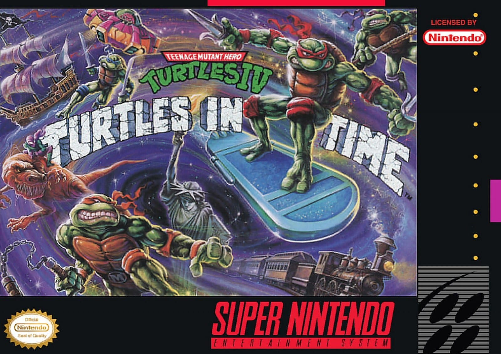 Turtles in time super nintendo game