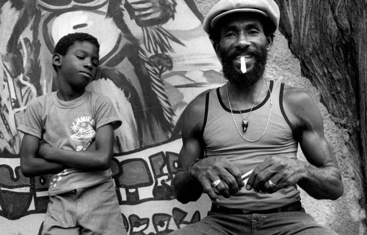 Lee perry smoking