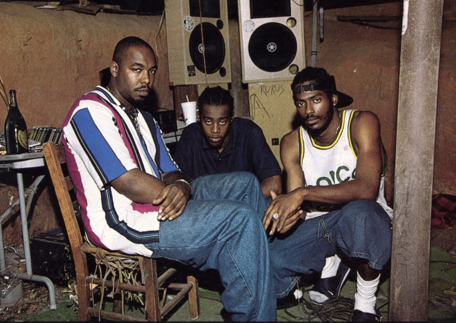 "The rap group ""Organized Noise"""