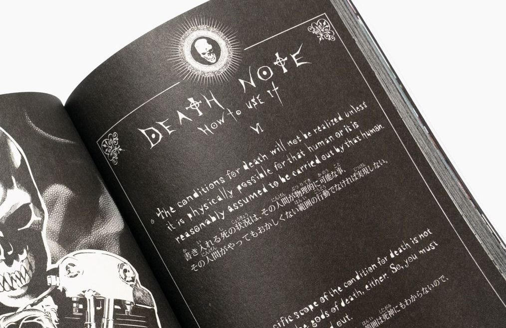 death note stoner book