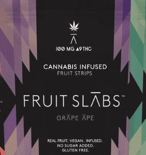 fruit slabs weed gummies