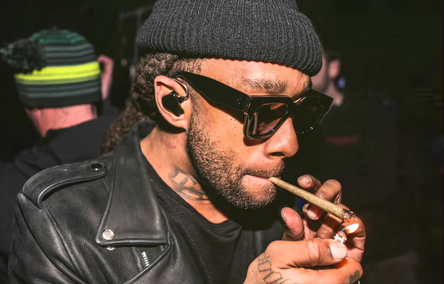 ty dolla sign smoking weed