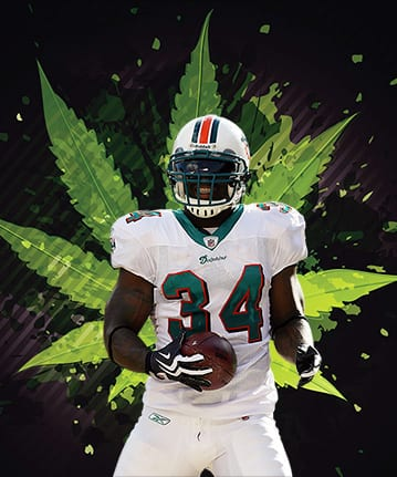 ricky williams weed and pro sports