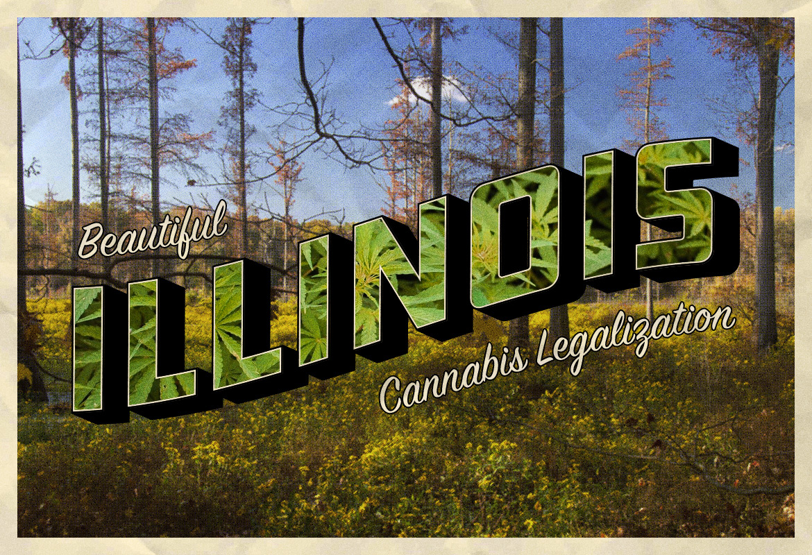 Illinois Historic Legalization sign